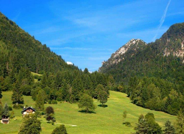 Пейзажи и природа-Фототапет Алпийски пейзаж