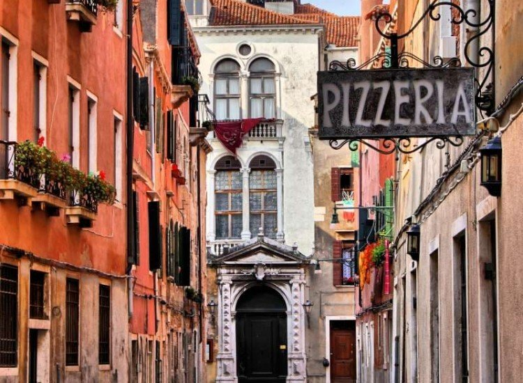Сгради и забележителности-Фототапет Венецианска улица