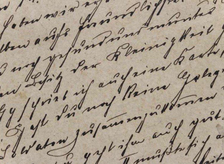 Винтидж фототапети-Фототапет Винтидж ръкописен текст