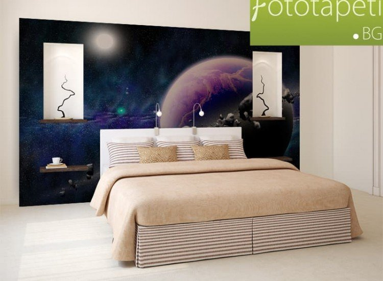Космос-Фототапет Планета и астероиди
