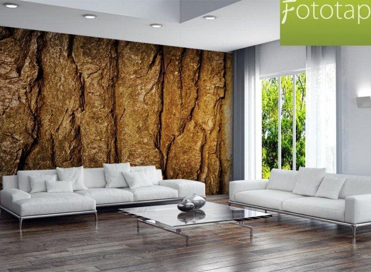 Текстури-Фототапет Кора на дърво
