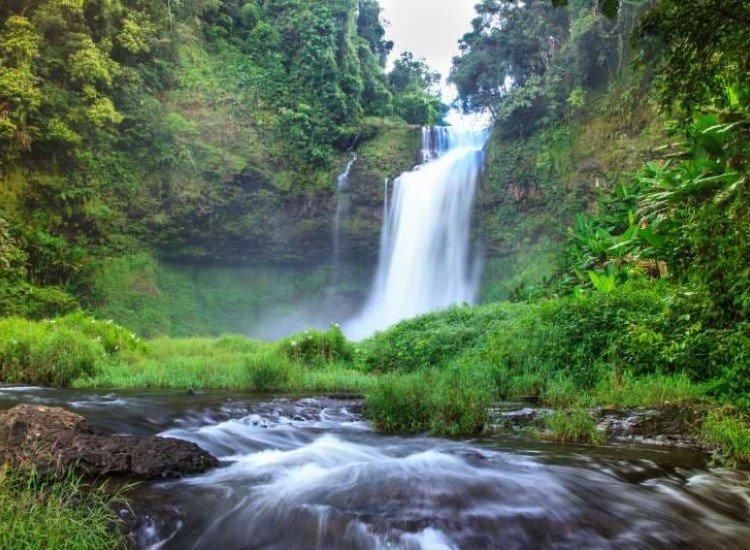 Пейзажи и природа-Фототапет Красив горски водопад