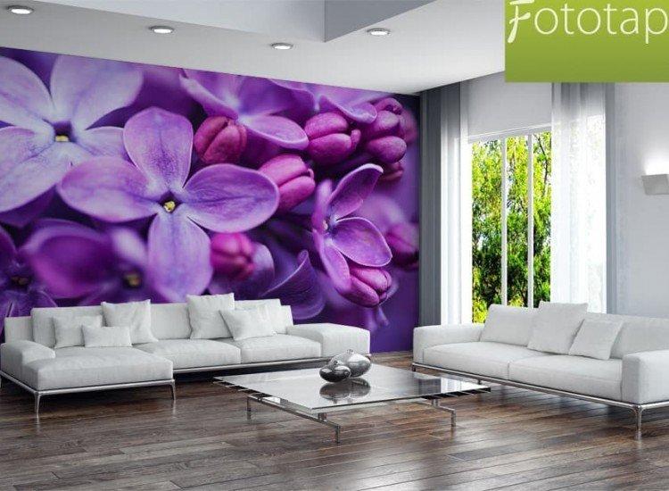 Цветя-Фототапет Виолетов люляк