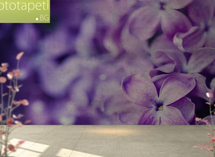 Цветя-Фототапет Пролетен люляк