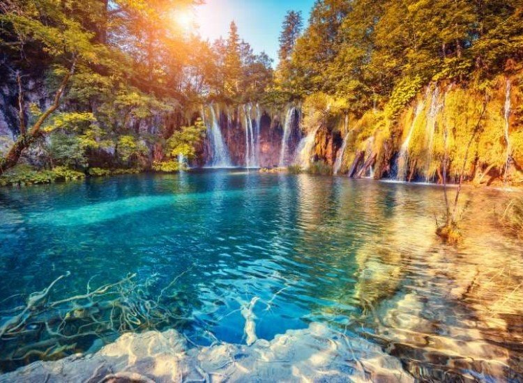 Пейзажи и природа-Фототапет Плитвички езера