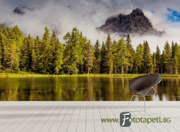 Пейзажи и природа-Фототапет Мъгла в Тирол