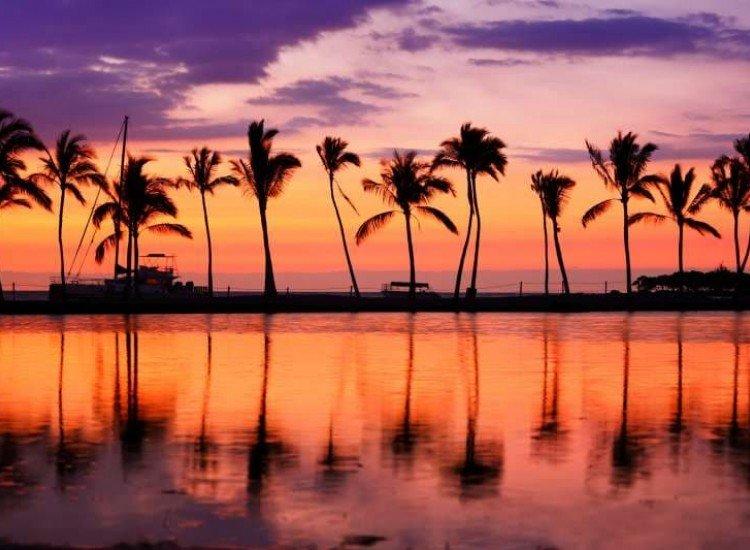 Морски и тропически-Фототапет Райски плаж Хавай