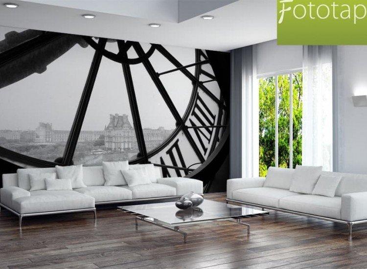 Сгради и забележителности-Фототапет Гледка към Париж