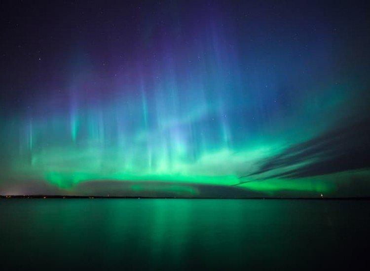 Пейзажи и природа-Фототапет Северно сияние