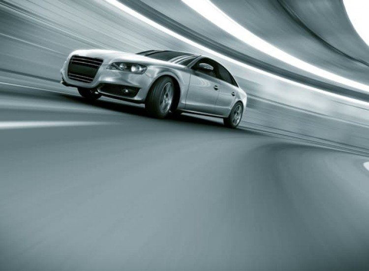 Автомобили и транспорт-Фототапет Кола в движение