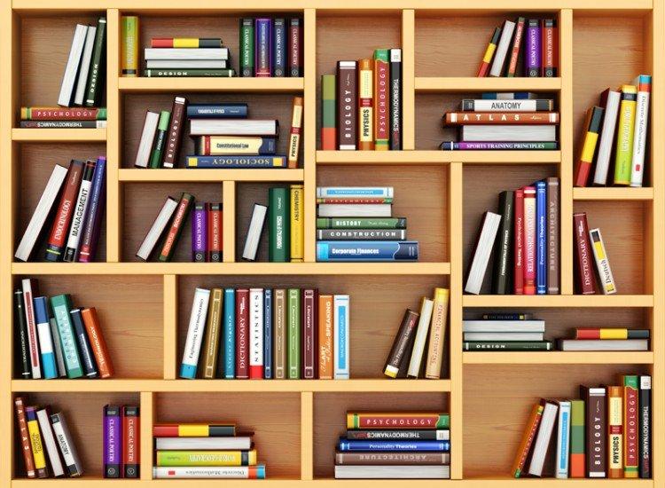 Фототапет Библиотека 3d