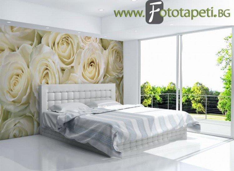 Цветя-Фототапет Рози