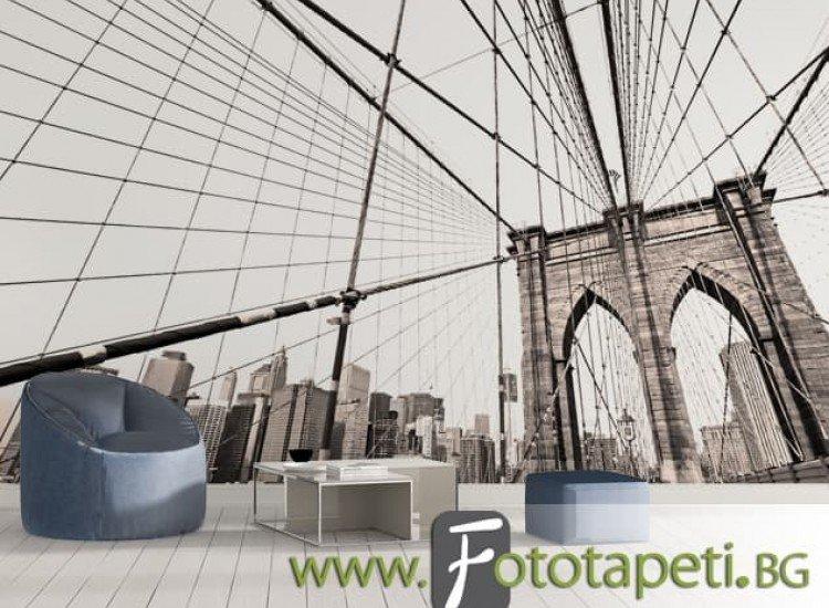 Сгради и забележителности-Фототапет Мост Манхатън