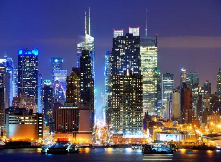 Градски пейзажи-Фототапет Долен Манхатън