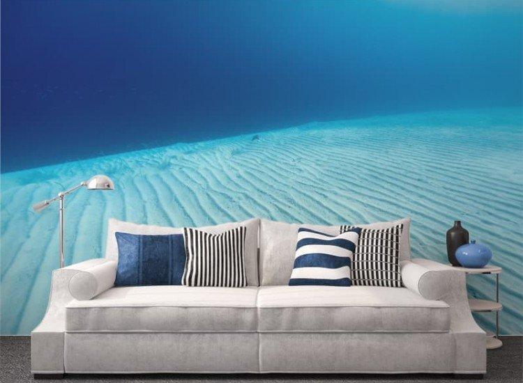 Морски и тропически-Фототапет Синьо море