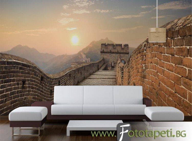 Сгради и забележителности-Фототапет Великата китайска стена