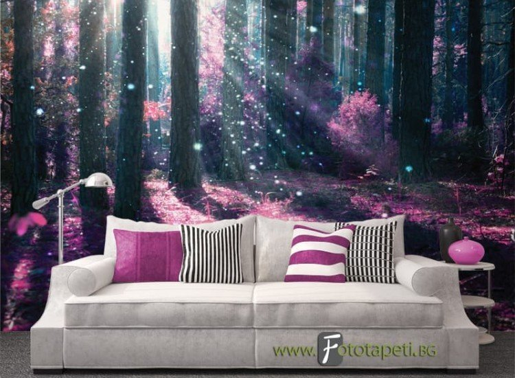 Пейзажи и природа-Фототапет Магическа гора