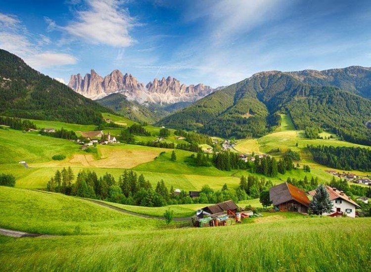 Пейзажи и природа-Фототапет Пасторален пейзаж