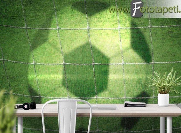Спортни-Фототапет Текстурирано футболно поле