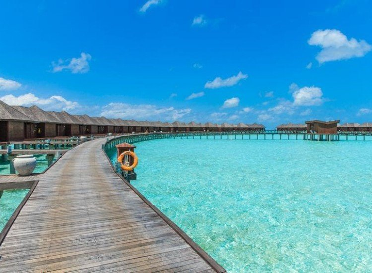 Морски и тропически-Фототапет Малдивите