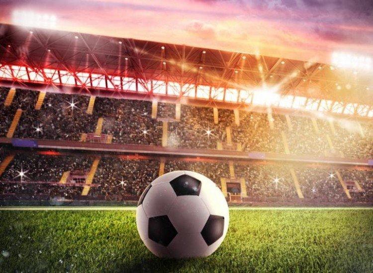 Спортни-Фототапет Светлините на стадиона