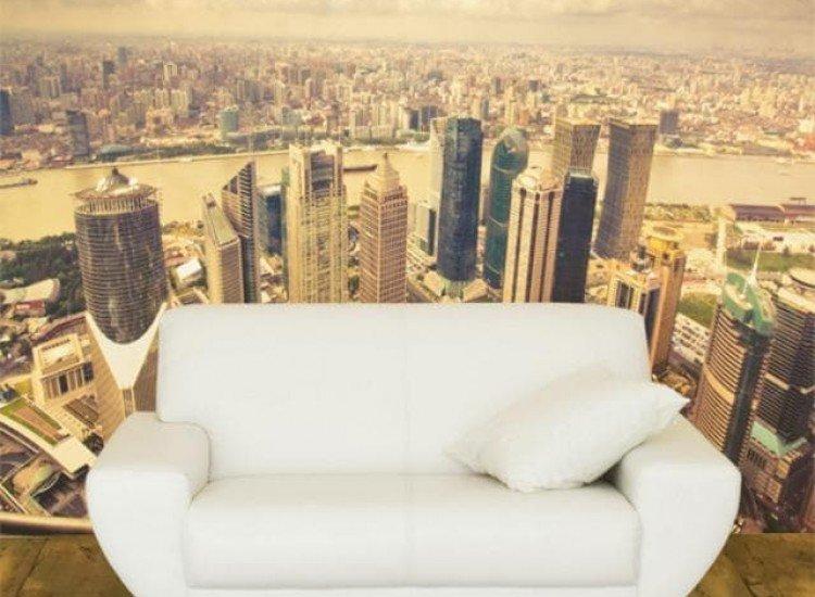 Градски пейзажи-Фототапет Сутрешен Дубай