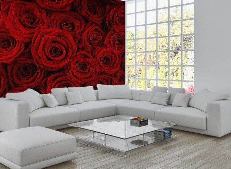 Цветя-Фототапет Текстура на любовта