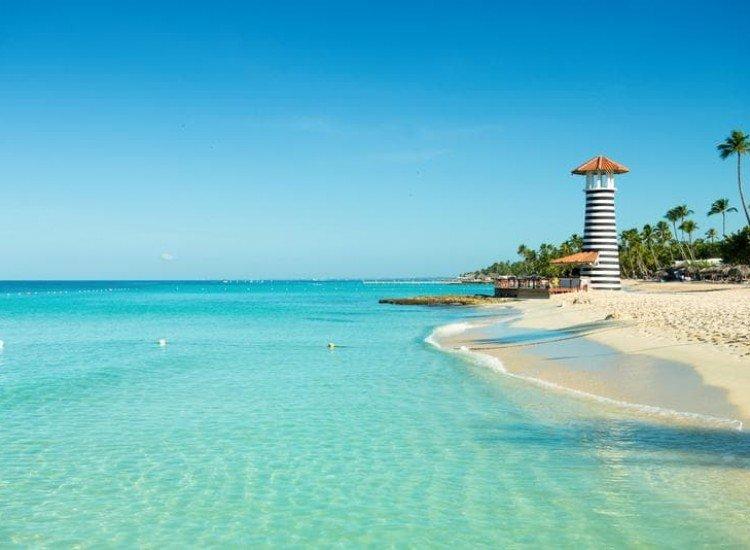 Морски и тропически-Фототапет Карибски пейзаж