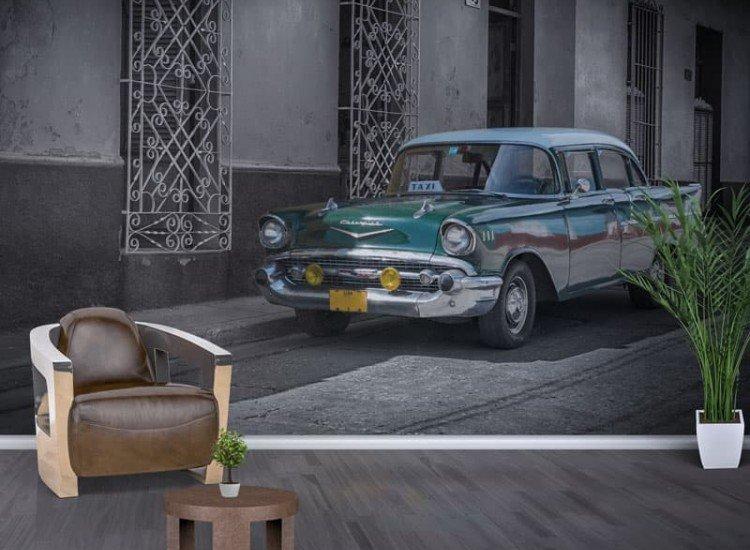 Автомобили и транспорт-Фототапет Хавана, Куба