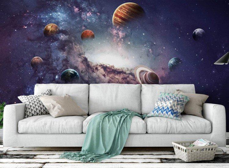 Космос-Фототапет Слънчева система