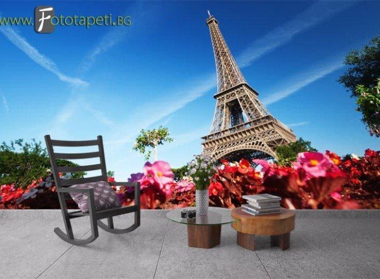 Сгради и забележителности-Фототапет Айфеловата кула, Париж
