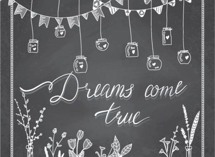 Модерни графики-Фототапет Dreams come true