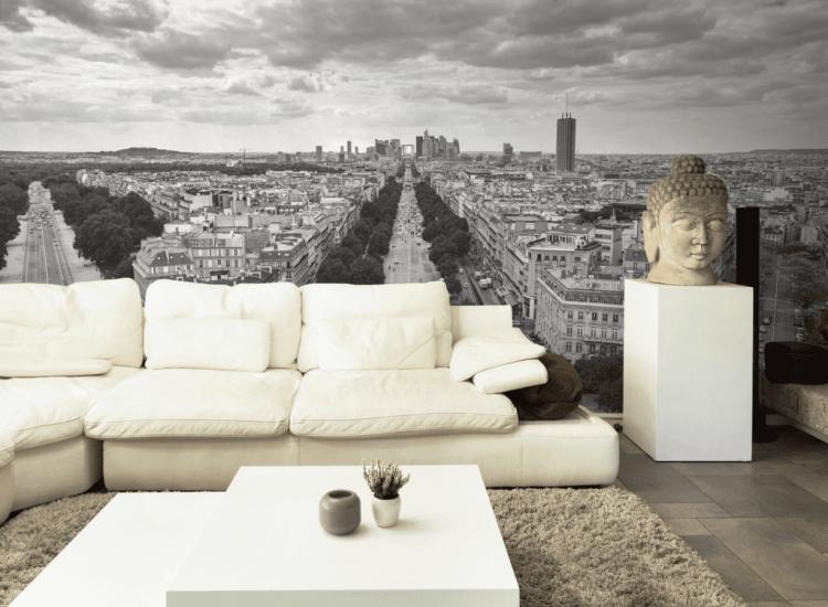 Сгради и забележителности-Фототапет Изглед от Триумфалната Арка в Париж