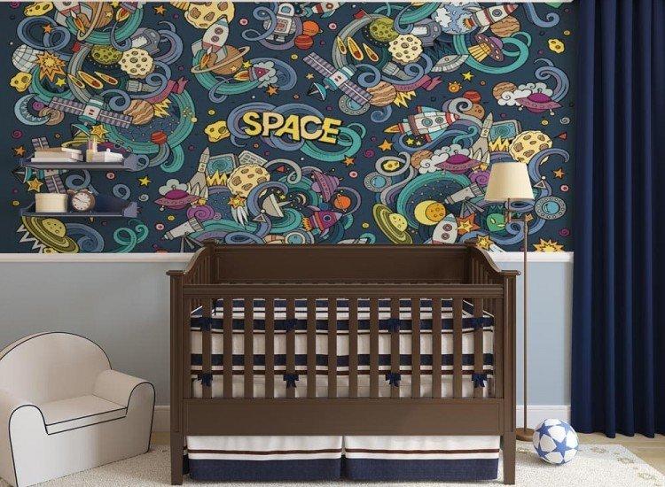 Детски фототапети-Фототапет SPACE