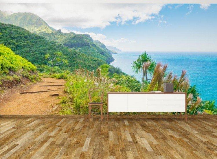 Пейзажи и природа-Фототапет Остров Кауай, Хавай