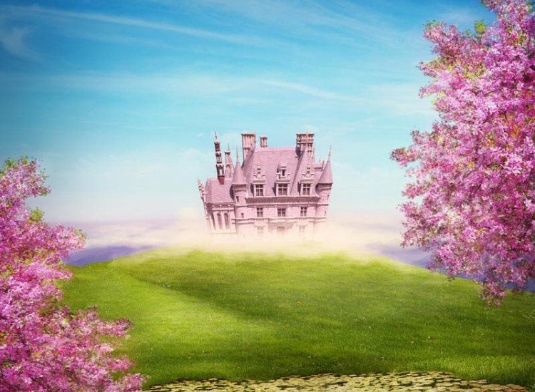 Детски фототапети-Фототапет Приказен замък