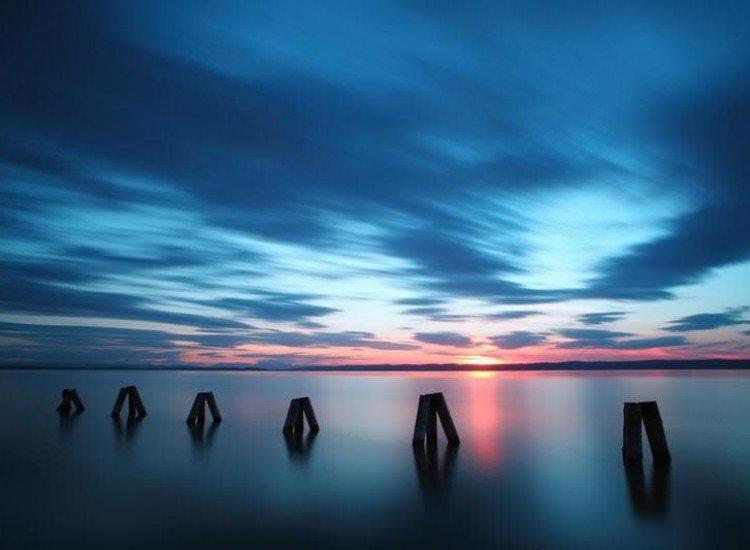 Морски и тропически-Фототапет Океански залез