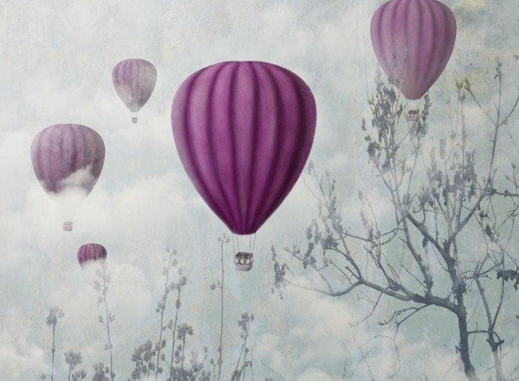 Тийн-Фототапет Балони в облаците