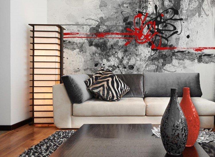 Модерни графики-Фототапет Гръндж абстрактна текстура