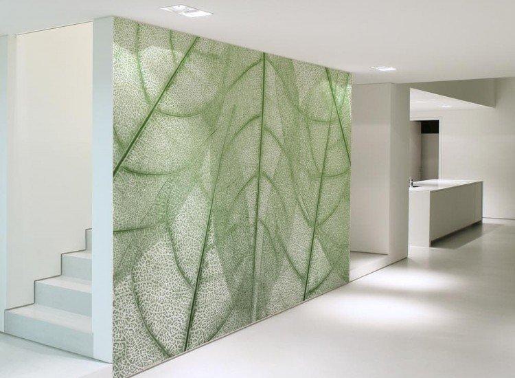 Растения-Фототапет Абстрактен фон с листа