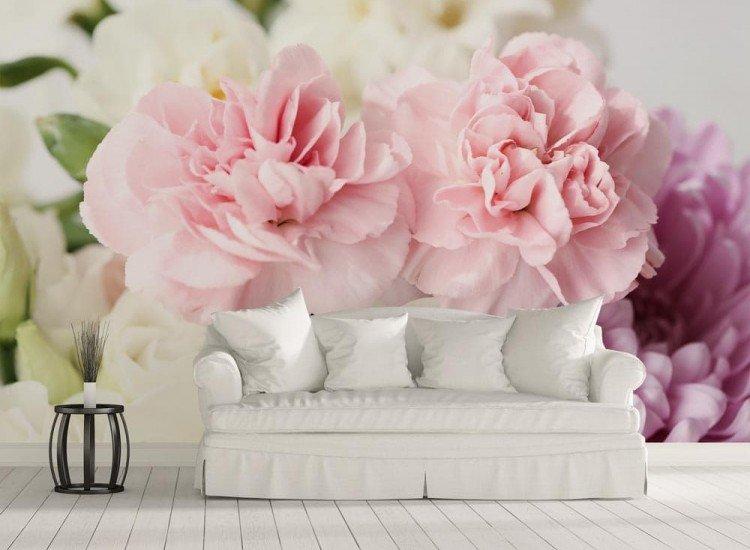 Цветя-Фототапет Цветен букет