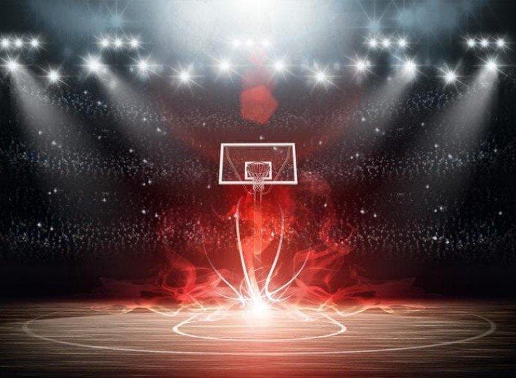 Тийн-Фототапет Баскетболно игрище