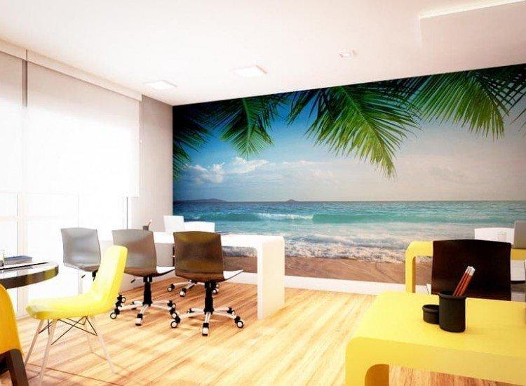 Морски и тропически-Фототапет Сейшелски плаж