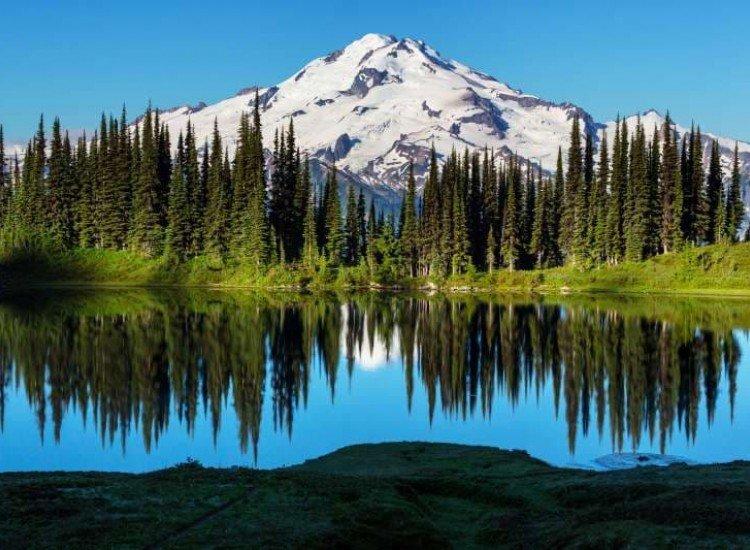 Пейзажи и природа-Фототапет Изглед към ледниците
