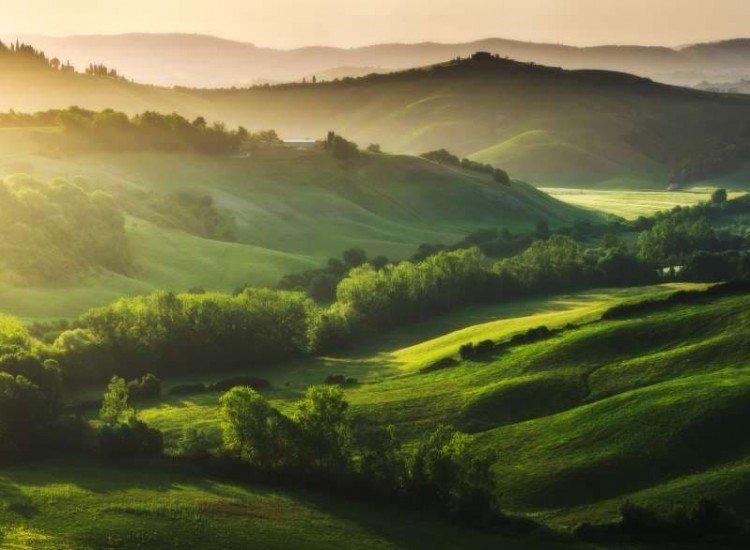 Пейзажи и природа-Фототапет Пейзаж в Тоскана