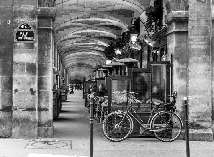 Градски пейзажи-Фототапет Френска улица