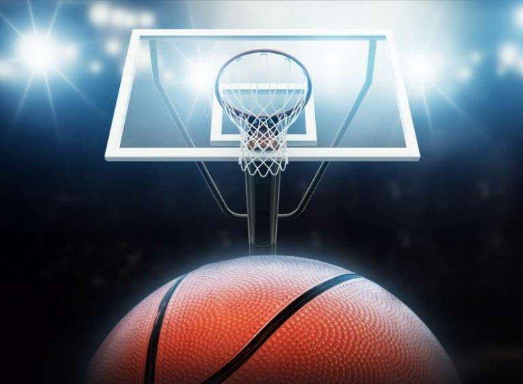 Тийн-Фототапет Баскетболен кош