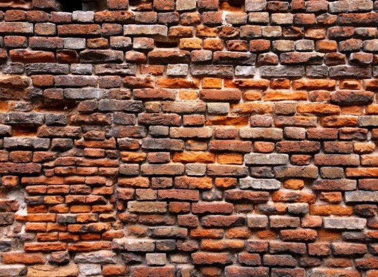 Текстури-Фототапет Тухлена стена във Верона