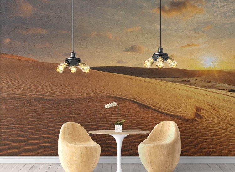 Пейзажи и природа-Фототапет Бели пясъчни дюни