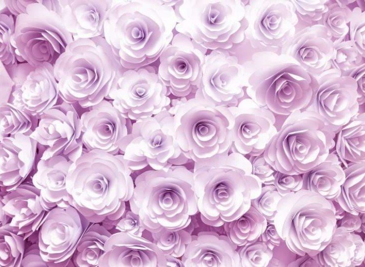 SALE-Фототапет Хартиени рози